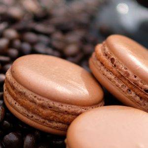 Coffee French Macaroon
