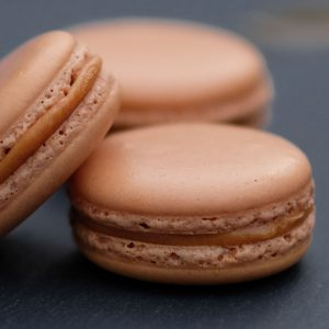 Salted Caramel French Macaroon