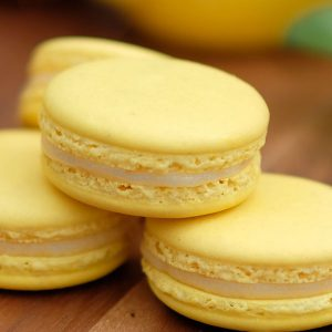 Lemon French Macaroon