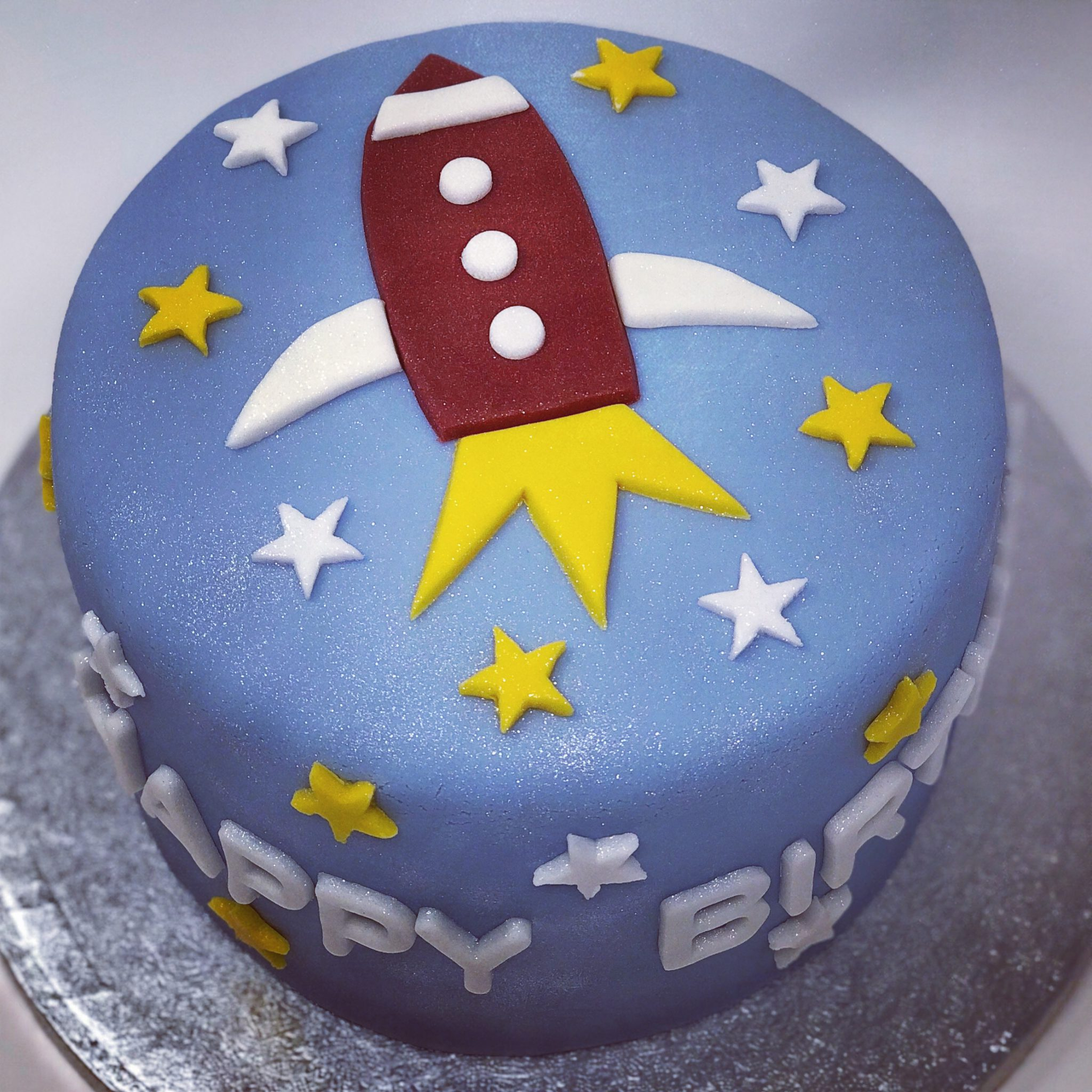 Admirable Rocketship Birthday Cake Birthday Cakes French Macaroons Funny Birthday Cards Online Overcheapnameinfo