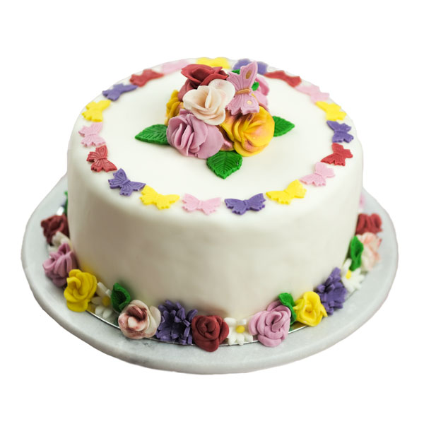 Flower blossom Birthday Cake