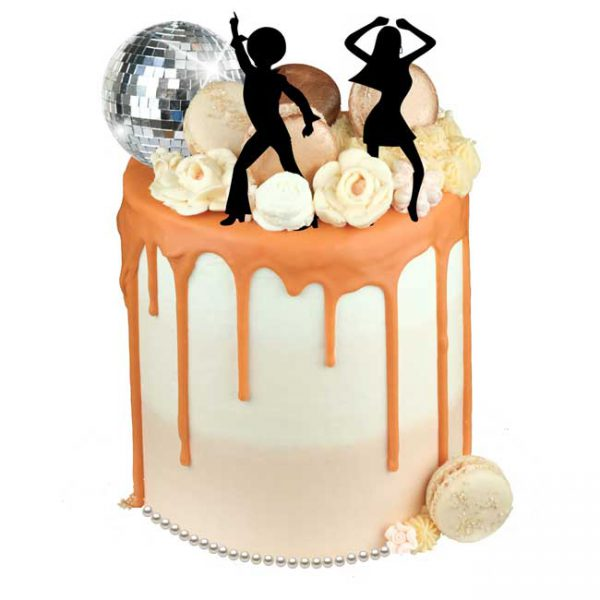 Disco Ball Bellini Cake